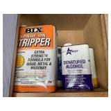 Bix stripper, denatured alcohol