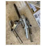 Gear puller, clutch alignment tool, light