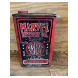 Marvel Mystery Oil can