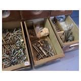 Nuts, bolts, drill bits