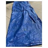 Blue tarp - as is