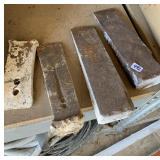Lumber wedges (3 & tool head)