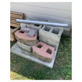 Concrete block, landscape block