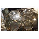 Vintage Eye Glasses in Case