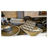 Baking and cooking pans, pots, skillets