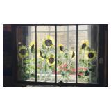 Large 4 pane window artwork