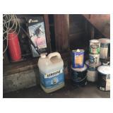 Paint Kerosene fire extinguisher