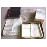 Tweedy Lumber Company statements, receipts