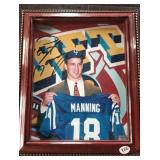 SIGNED by Peyton Manning-Draft Day 8x10