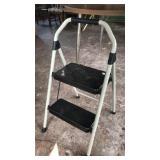Folding 2 step stool