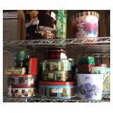 25+ Christmas tins