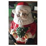 Santa cookie jar