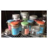 Ceramic top 1 quart canisters