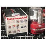 KitchenAid chopper and slicer attachment