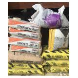 7-50 pound bags of Safety salt