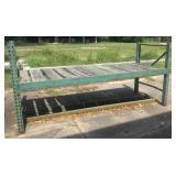 iron frame shelf/table