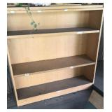 Double sided shelving unit