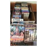 John Wayne and other VHS movies