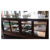 Beautiful Antique Oak display case