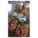 Bouncing Tigger and pumpkin carving kits