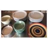 15 Delco Porcelain restaurant plates