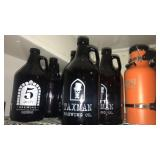7 Craft beer growlers and thermos