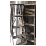 Wooden 5 foot ladders