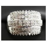 Ladies 1 Cttw Diamond Dinner Ring