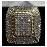 Ladies 3 Ct Diamond Dinner Ring