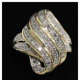 Ladies 1 Ct Diamond Dinner Ring