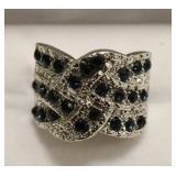 Ladies 2.98 Ct Sapphire Ring