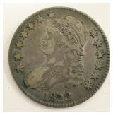 1823 United States Bust Half Dollar