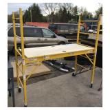 Werner Single Section Rolling Scaffolding
