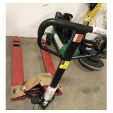 Dayton Red Pallet Jack.  New store stock.  Used