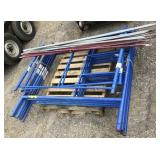"Lot of (6)Six 60"" x60"" Scaffolding Sections plus"