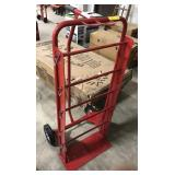 Red Wire Spool Dolly