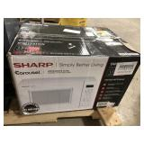 Sharp 1000watt Microwave.  1.1 cu ft