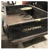 Craftsman pull behind yard dump trailer