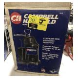 Campbell Hausfield 1/2 hp cast-iron submersible
