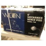 "Wilton 6 "" mechanics bench vise model 746 inbox"