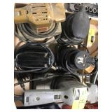 Lot of various hand Sanders, black and decker,