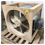 "Dayton 30"" Tubeaxial belt driven fan w/motor"