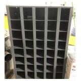 40 Compartment Hardware Bin.  Heavy Steel, with a