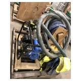 "Pacific Hydrostar 212cc Trash Pump 3"", with hose"