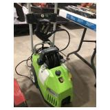 Greenworks Electric pressure washer with spray
