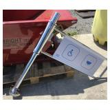 Locking Handicap Turnstile safety Gate
