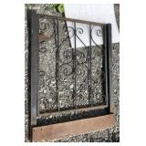 Wrought Iron Gate