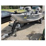 Aluminum Sea Nymph Fishing Boat With 55HP Johnson