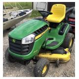 "John Deere D140 Riding Lawnmower With 48"" Deck"