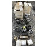 Large Lot Of Engine Parts